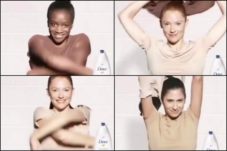 dove racismo campanha publicitaria